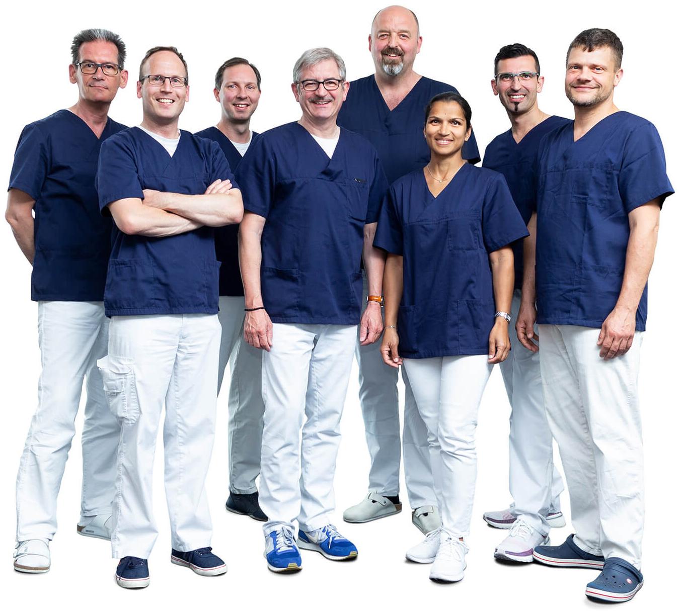 Ärzteteam der Gemeinschaftspraxis für Neurochirurgie Offenbach/Hanau/Friedberg